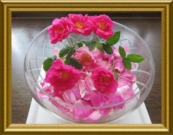 Rosenbowle aus der Taraland Lehrküche