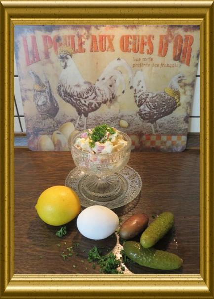Ananas-Schinken-Kartoffelsalat