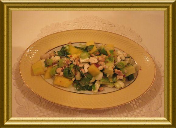 Avocado-Mango-Salat-mit-Chili aus der Taraland Lehrküche