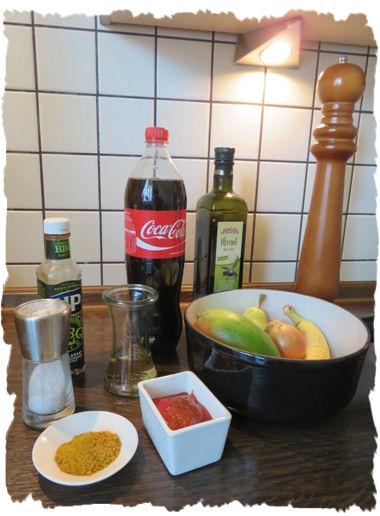BBQ Sauce - Curry-Mango Sauce (2)