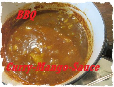 BBQ Sauce - Curry-Mango Sauce