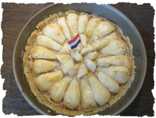 Französische Birnen-Tarte mit Mascarpone
