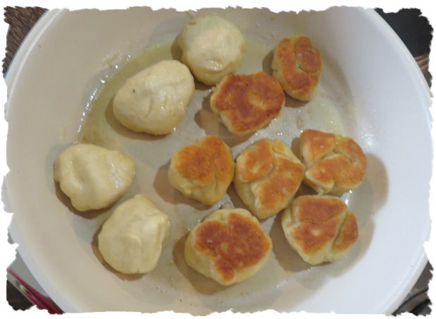Gnocchis anbraten