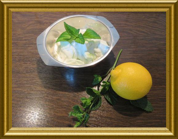 Gurken-Minz-Salat-arabisch