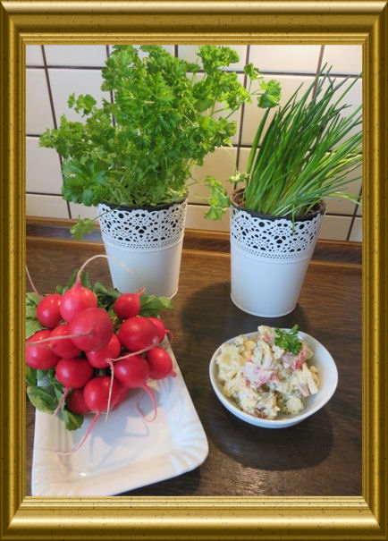 kartoffelsalat mit mayonnaise. Black Bedroom Furniture Sets. Home Design Ideas