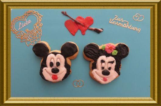 Hochzeit von Micky und Minnie