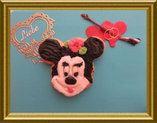 Verliebte Minnie Mouse