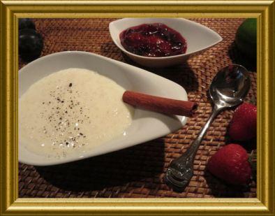 Milchreis aus der Taraland Küche