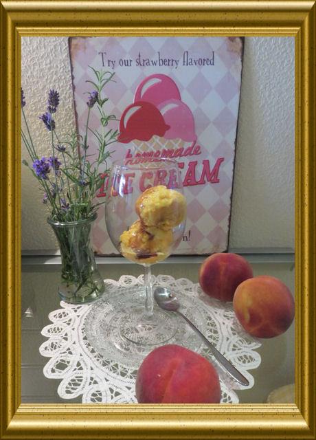 Pfirsich-Melba-Eis (2)