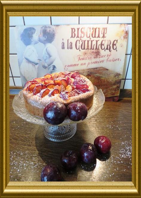Pflaumenkuchen aus Hefeteig (2)