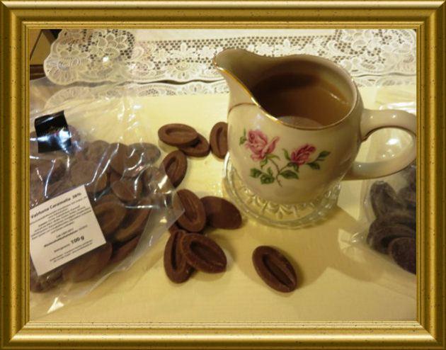 Schokoladensauce aus der Taraland Lehrküche