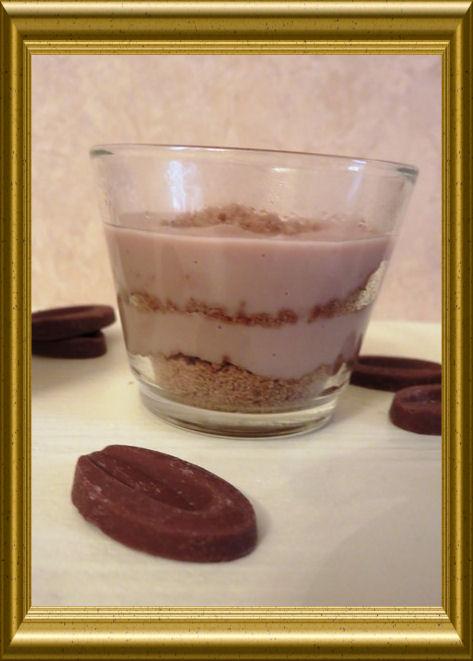 Schokoladenpudding mit Spekulatius aus der Taraland Lehrküche