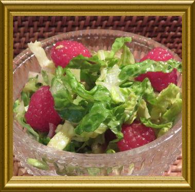 Sommersalat mit Himbeeren (2)