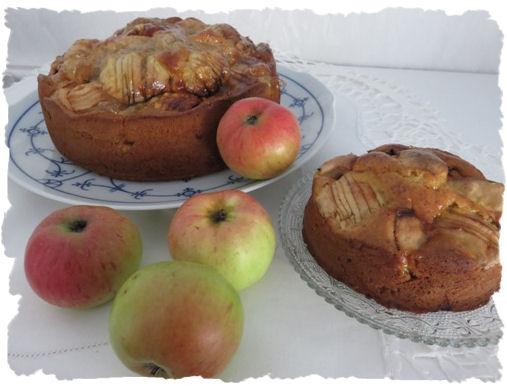 Versunkener Apfelkuchen (2)