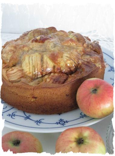 Omas versunkener apfelkuchen rezept