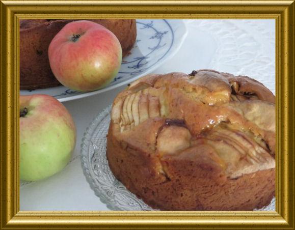 Versunkener Apfelkuchen (5)
