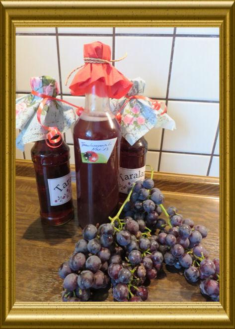 Weintraubensaft aus der Lehrküche Taraland