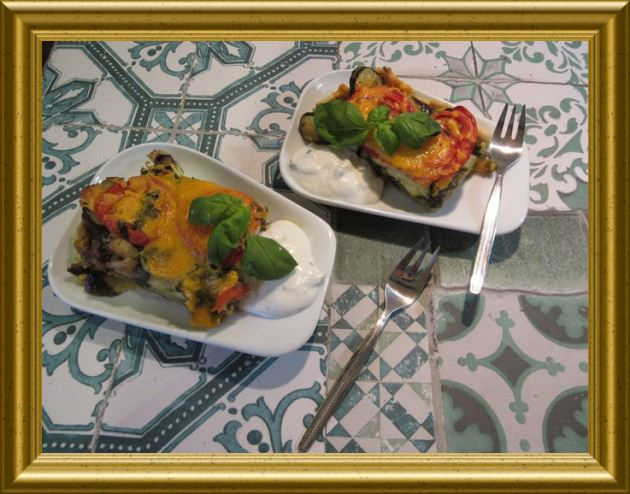 Auberginen Tarte aus der Taraland Lehrküche