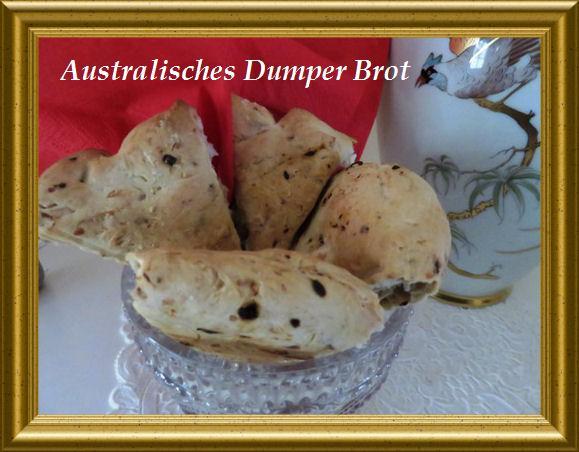 Australisches Dumper Brot aus der Taraland Lehrküche