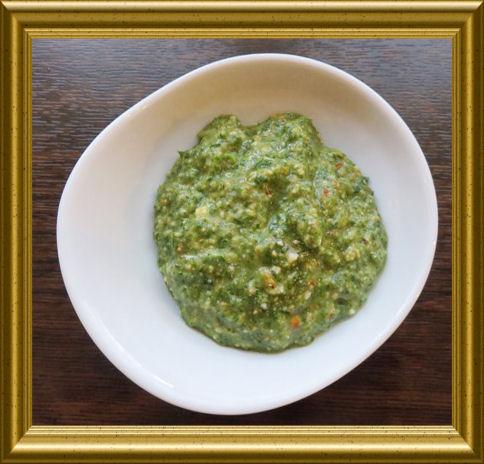 Cashew-Rucola-Pesto aus der Taraland Lehrküche