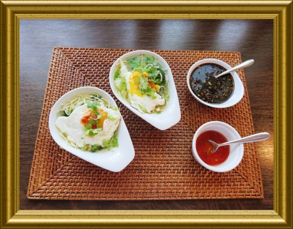 Chinesisches Dressing zu chinesischen schnellen Nudeln aus der Taraland Lehrküche
