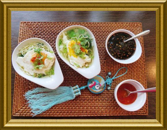 Chinesische schnelle Nudeln mit chinesischem Dressing aus der Taraland Lehrküche