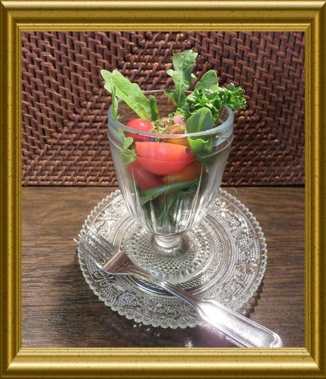 Cocktailtomaten-Rucola-Salat aus der Lehrküche Taraland