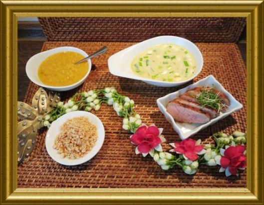 Indonesische Curry-Kokos-Suppe mit Ente aus der Taraland Lehrküche