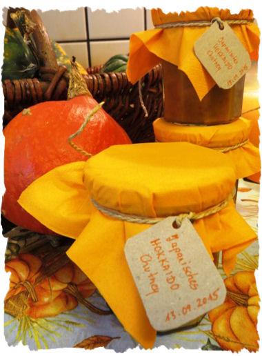 Japanisches Hokkaido Chutney aus der Taraland Lehrküche