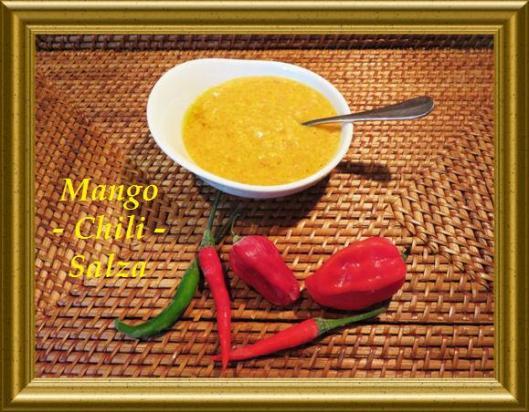 Mango-Chili-Salza aus der Taraland Lehrküche