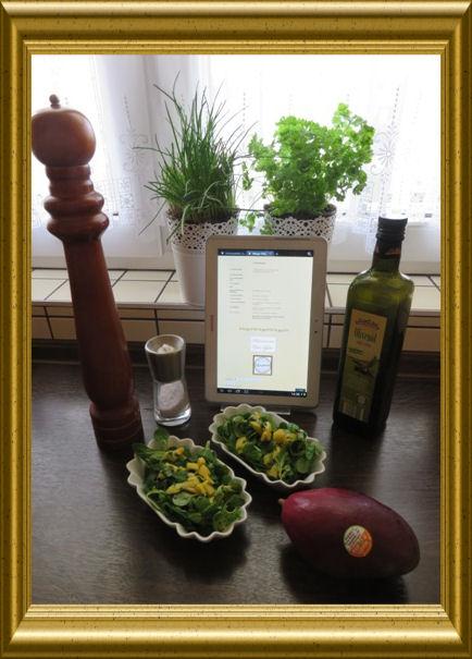 Mango-Feldsalat aus der Taraland Lehrküche