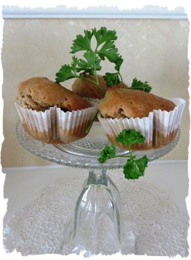 Petersilien-Käse-Muffins aus der Taraland Lehrküche