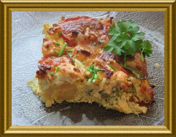Schafskäse-Kartoffel-Auflauf  aus der Taraland Lehrküche