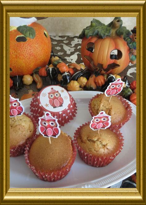 Bailey Muffins  zu Halloween