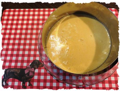 Bayrisch Crem Torte - Fruchtspiegel