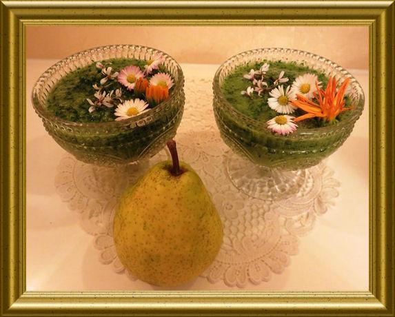Grüner Birnen Smoothie