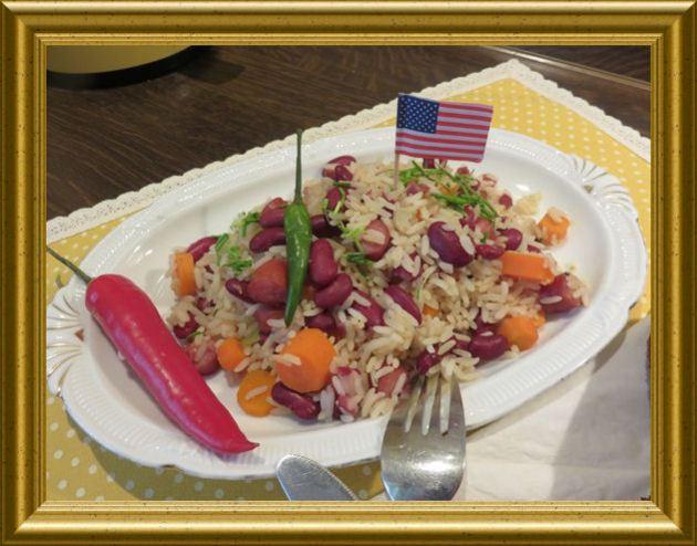 Cajun Beans vom Mississippi aus der Taraland Lehrküche