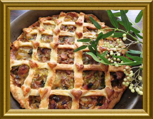 Englischer Curryhähnchen Pie aus der Taraland Lehrküche