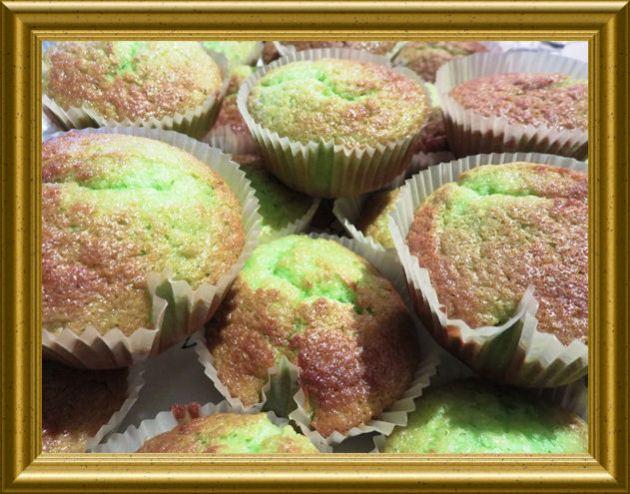 Grüne Halloween Muffins aus der Taraland Lehrküche
