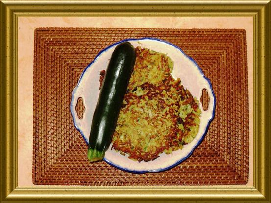 Kartoffel-Zucchini Rösti