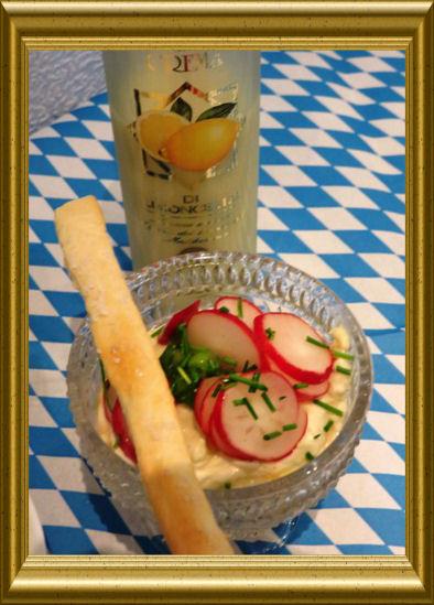 Obazda mit Radieschensalat aus der Taraland Lehrküche