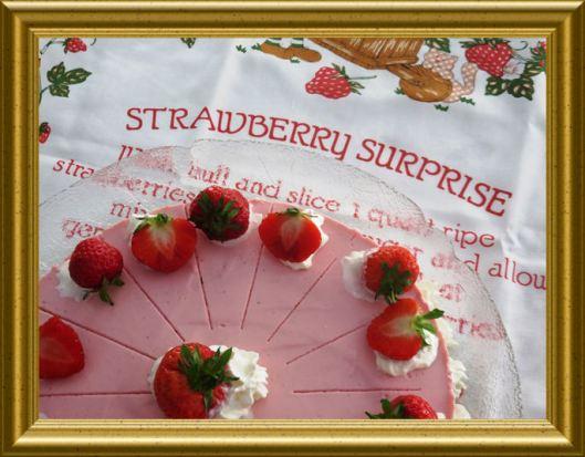 Phiadelphia Torte mit Erdbeercréme aus der Taraland Lehrküche