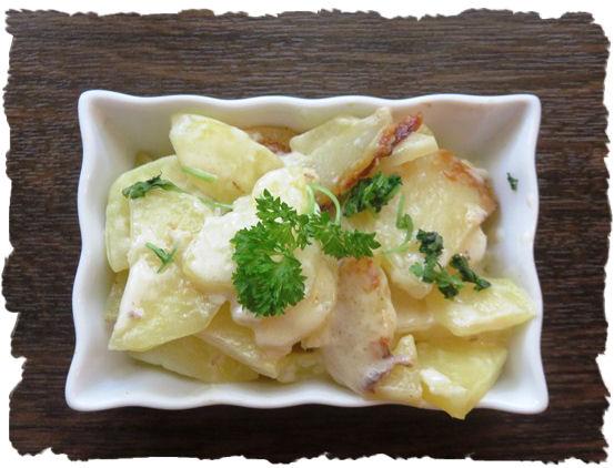 Rahmkartoffeln