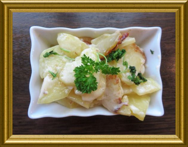 Rahmkartoffeln aus der Taraland Lehrküche