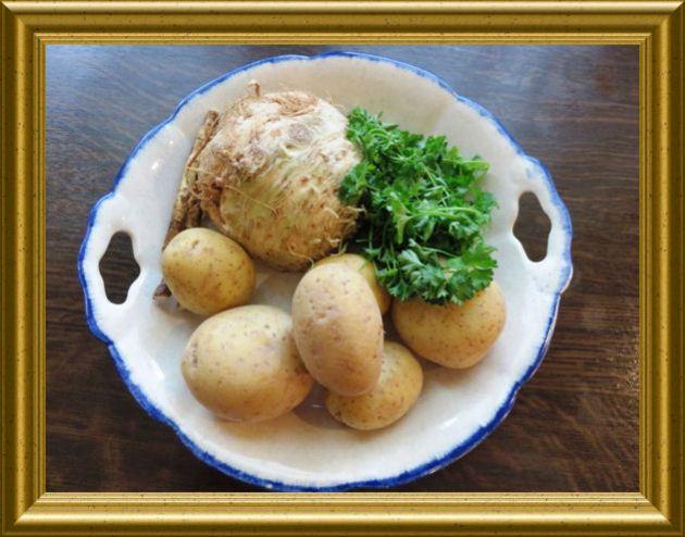 Sellerie-Meerrettich-Stampf aus der Taraland Lehrküche
