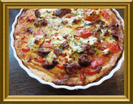 Tomaten-Bresso-Tarte aus der Taraland Lehrküche