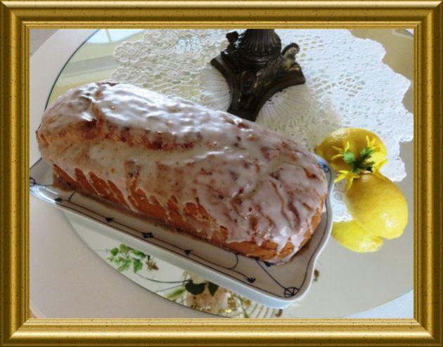 Zitronenkuchen in der Kastenform aus der Taraland Lehrküche