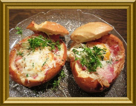 Bacon & Ei Semmeln aus der Taraland Lehrküche