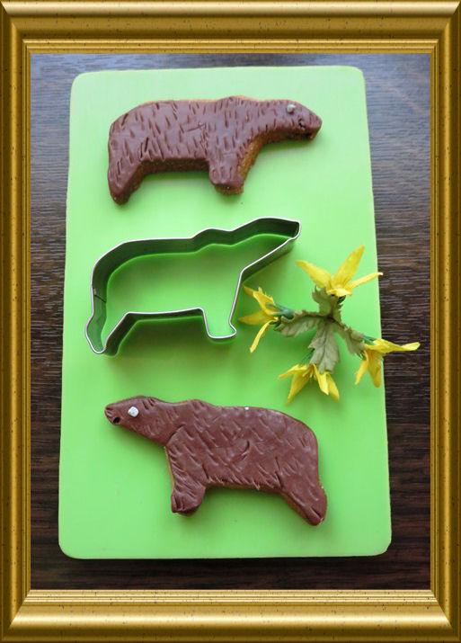 Bärenplätzchen Braunbären aus der Taraland Lehrküche