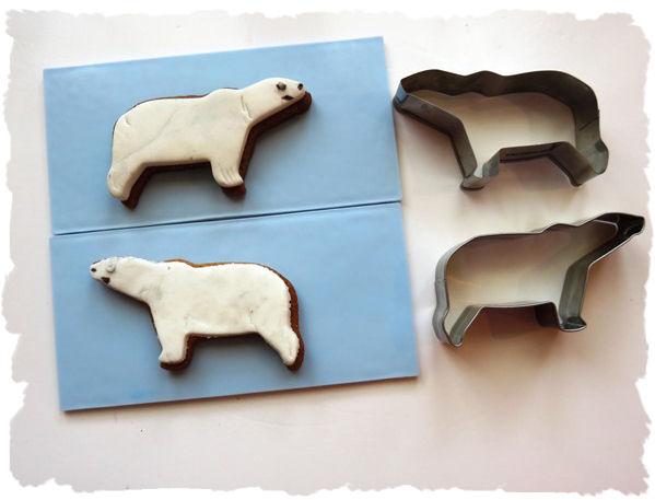 Bärenplätzchen Eisbärenaus der Taraland Lehrküche